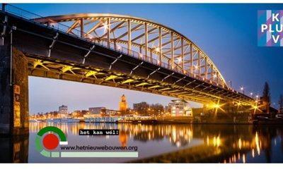 HET NIEUWE BOUWEN en KplusV gaan samen verder bouwen aan Cirkelstad Arnhem en Nijmegen