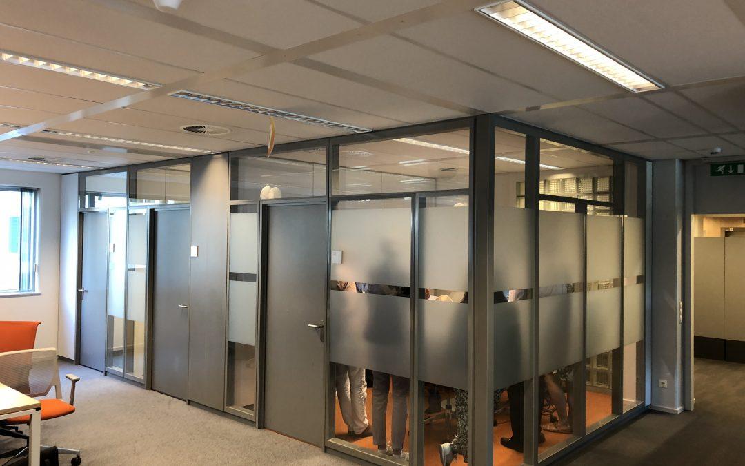 Gebruikte systeemwanden / kantoorwanden: wie heeft het beste idee?