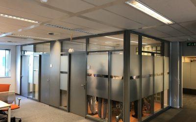 Gebruikte systeemwanden / kantoorwanden: niet meer voorradig.