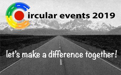 Serie circulaire events en congressen in 2019!